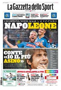 La Gazzetta dello Sport Roma – 18 settembre 2019