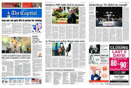 The Capital – April 11, 2018