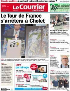 Le Courrier de l'Ouest Cholet - 18 Octobre 2017
