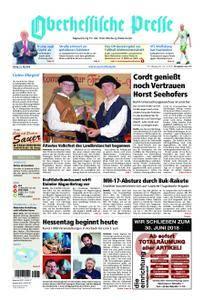 Oberhessische Presse Marburg/Ostkreis - 25. Mai 2018
