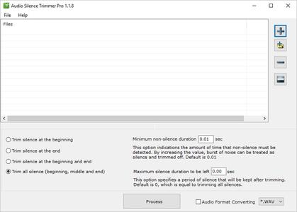 Audio Silence Trimmer Pro 1.1.8