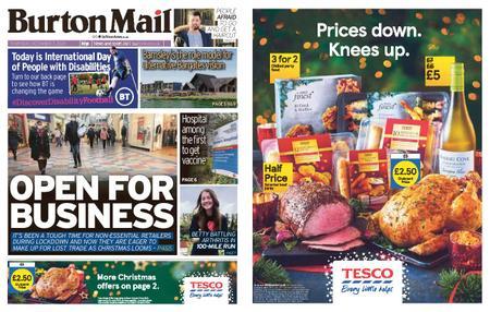 Burton Mail – December 03, 2020