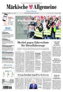 Märkische Allgemeine Dosse Kurier - 12. April 2018