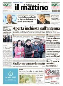 Il Mattino di Padova - 2 Aprile 2017
