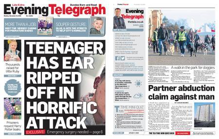 Evening Telegraph First Edition – November 18, 2019