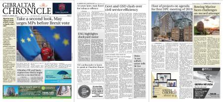 Gibraltar Chronicle – 15 January 2019