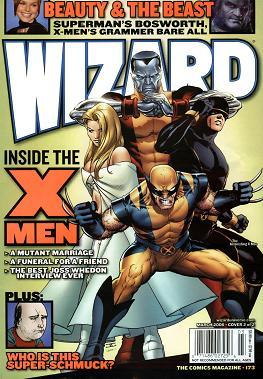Wizard Magazine #173 March 2006