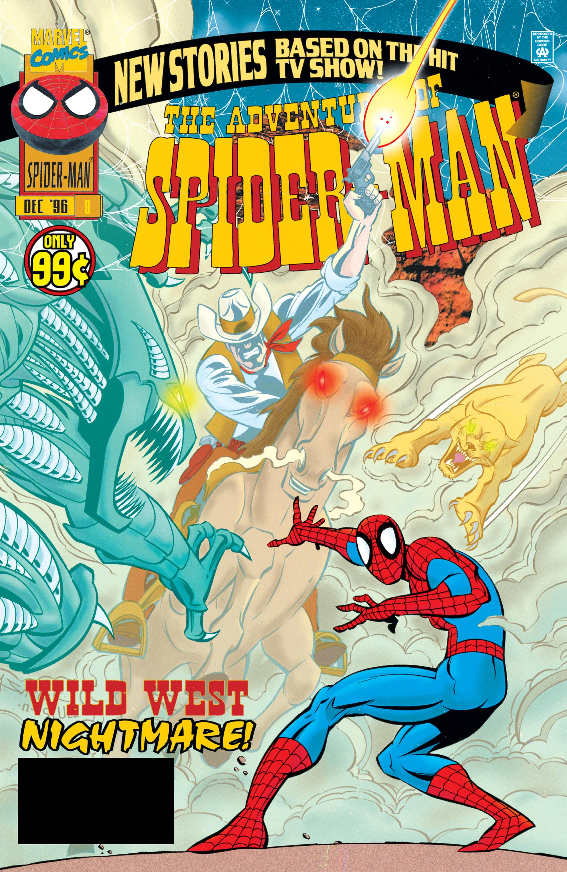 Adventures of Spider-Man 009 1996 Digital Shadowcat