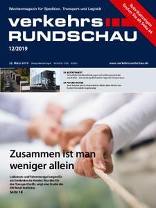 VerkehrsRundschau - 19. März 2019