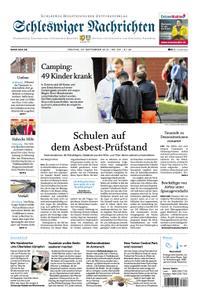 Schleswiger Nachrichten - 20. September 2019
