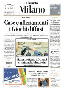la Repubblica Milano - 19 Novembre 2019