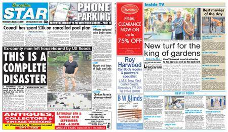 Shropshire Star Shrewsbury Edition – August 30, 2017
