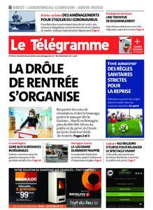 Le Télégramme Brest Abers Iroise – 28 août 2020