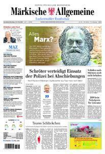 Märkische Allgemeine Luckenwalder Rundschau - 05. Mai 2018