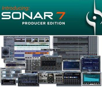 Cakewalk Sonar Producer Edition 7.0.1