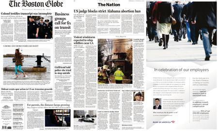 The Boston Globe – October 30, 2019