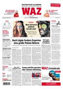 WAZ Westdeutsche Allgemeine Zeitung Oberhausen-Sterkrade - 28. Februar 2019