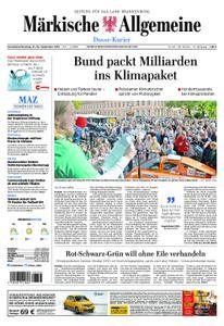 Märkische Allgemeine Dosse Kurier - 21. September 2019
