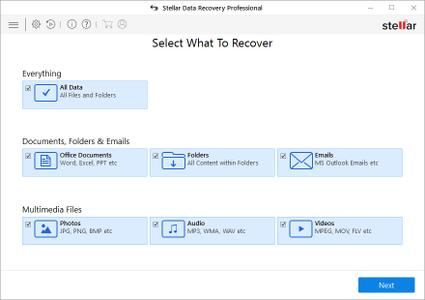 Stellar Phoenix Windows Data Recovery Professional 8.0.0.0 Multilingual Portable