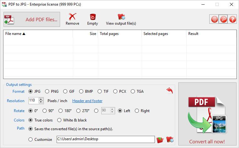 TriSun PDF to JPG 14.1 Build 056 Multilingual