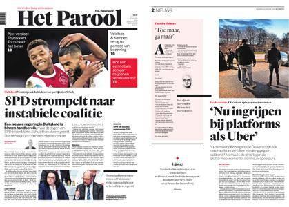 Het Parool – 22 januari 2018