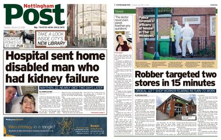 Nottingham Post – January 21, 2020