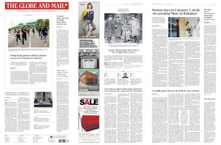 The Globe and Mail – September 02, 2019