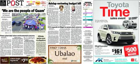 The Guam Daily Post – September 03, 2019