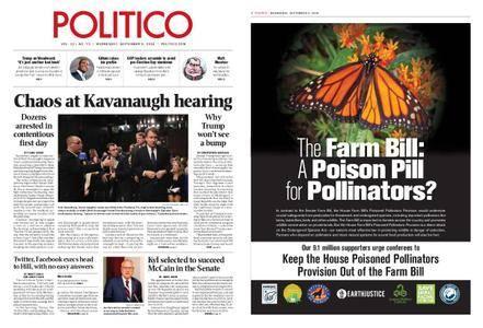 Politico – September 05, 2018