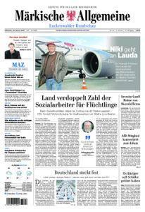 Märkische Allgemeine Luckenwalder Rundschau - 24. Januar 2018