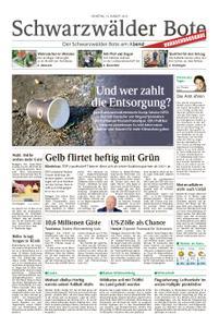 Schwarzwälder Bote Hechingen - 13. August 2019