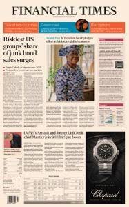 Financial Times Asia - February 16, 2021