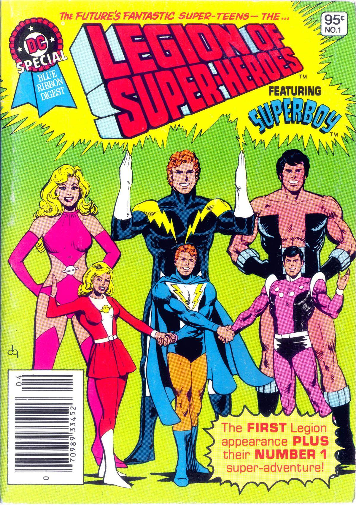 DC Special Blue Ribbon Digest 001 1980
