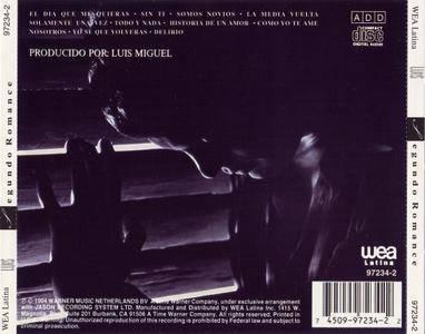 Luis Miguel - Segundo Romance (1994)