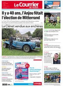 Le Courrier de l'Ouest Cholet – 10 mai 2021