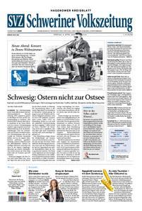 Schweriner Volkszeitung Hagenower Kreisblatt - 03. April 2020