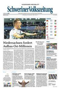 Schweriner Volkszeitung Hagenower Kreisblatt - 25. Juni 2018