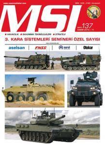 MSI Dergisi - Kasım 2016