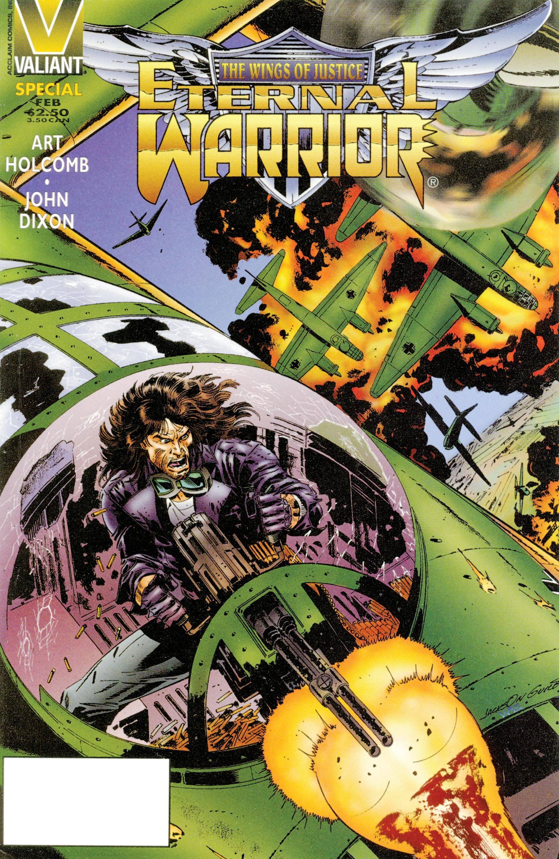 Eternal Warrior - The Wings of Justice 1996 digital