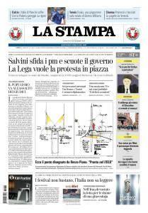 La Stampa Torino Provincia e Canavese - 8 Settembre 2018