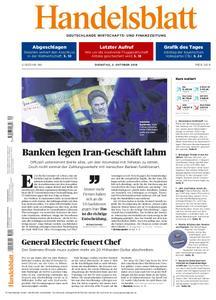 Handelsblatt - 02. Oktober 2018