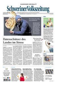 Schweriner Volkszeitung Hagenower Kreisblatt - 09. August 2018
