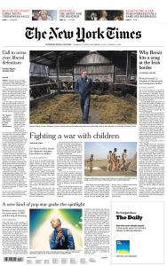 International New York Times - 31 December 2018 - 1 January 2019