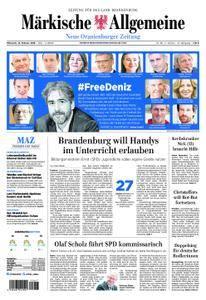 Neue Oranienburger Zeitung - 14. Februar 2018