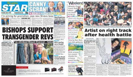 Shropshire Star Shrewsbury Edition – June 02, 2018