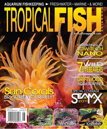 Tropical Fish Hobbyist Magazine August 2011