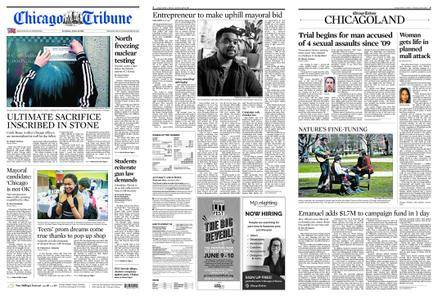 Chicago Tribune – April 21, 2018