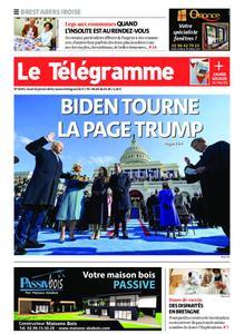 Le Télégramme Brest Abers Iroise – 21 janvier 2021