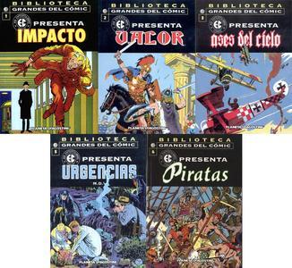 Biblioteca Grandes Del Cómic, EC presenta #1-3, #5-6