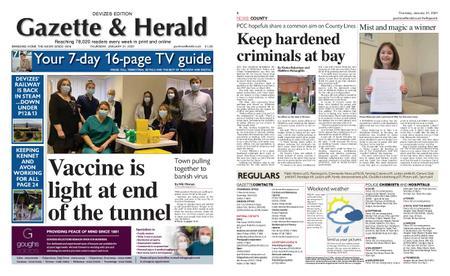 Gazette & Herald – January 21, 2021